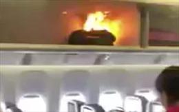 Pin sạc dự phòng nổ tung trên máy bay Boeing 777