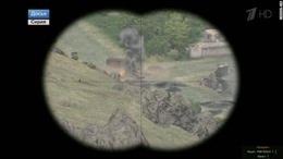 Kênh truyền hình Nga 'trà trộn' hình ảnh game minh họa cuộc chiến Syria