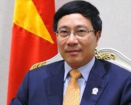 Phó Thủ tướng gặp Trưởng Ban nghiên cứu chính sách đảng LDP, Nhật Bản