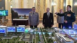 Xuất hiện áp phích vận động tranh cử của Tổng thống Putin