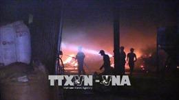 Điều tra nguyên nhân vụ cháy công ty sản xuất viên nén bột gỗ