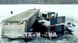 Tai nạn giao thông ở Nga và Trung Quốc làm 41 người thương vong