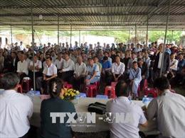 UBND thành phố Đà Nẵng ra thông báo liên quan đến kiến nghị của các hộ dân về nhà máy thép gây ô nhiễm