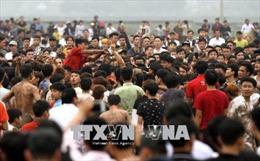 Yêu cầu tạm dừng phần cướp phết tại Lễ hội phết Hiền Quan