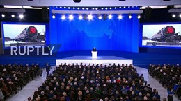 Tổng thống Nga Putin khoe ICBM siêu thanh mới qua video đầy ấn tượng