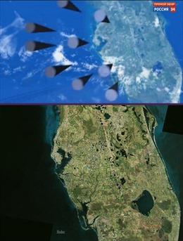 Mục tiêu tên lửa hạt nhân Nga nhắm tới trong video minh họa là Florida?