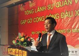 Gặp mặt cộng đồng người Việt tại Macau nhân dịp đầu Xuân 2018