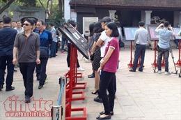 Du khách tiếp cận gần hơn với 'Khoa cử Việt Nam xưa trong di sản tư liệu thế giới'