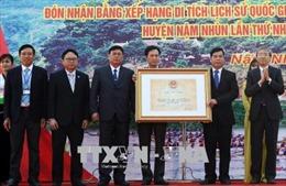 Công bố quyết định công nhận bia Lê Lợi là Bảo vật quốc gia