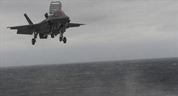 Mỹ lần đầu tiên triển khai tiêm kích tàng hình F-35B trên tàu sân bay ở Thái Bình Dương