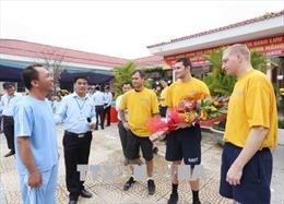 Hoạt động giao lưu cộng đồng của thủy thủ tàu Hải quân Hoa Kỳ tại Đà Nẵng