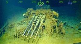 Tìm thấy hàng không mẫu hạm huyền thoại của Mỹ sau 76 năm nằm dưới đáy biển