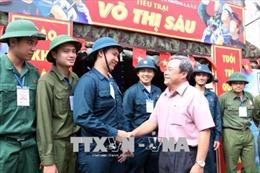 Thanh niên TP Hồ Chí Minh nô nức, tự hào thực hiện nhiệm vụ bảo vệ Tổ quốc