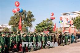 Quân khu 7 tổ chức giao nhận quân nhanh gọn, an toàn, đúng luật
