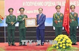 Trung tâm Nhiệt đới Việt - Nga đón nhận Huân chương Quân công hạng Ba