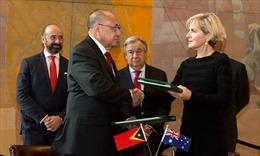 Australia, Timor Leste ký hiệp ước hải giới lịch sử