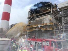 Cháy tại công trường Nhà máy Nhiệt điện Duyên Hải 3 mở rộng