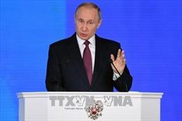 Tổng thống Nga: Hồi sinh nền kinh tế là thành tựu lớn nhất trong nhiệm kỳ qua