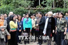 Đoàn nữ Đại biểu Quốc hội và các tổ chức ngoại giao Quốc tế thăm, làm việc tại Hòa Bình