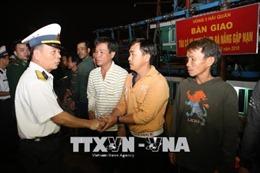 Cứu nạn kịp thời tàu cá và 11 ngư dân Đà Nẵng trôi dạt trên biển