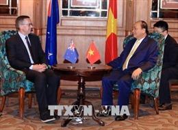 Thủ tướng Nguyễn Xuân Phúc tiếp lãnh đạo các doanh nghiệp New Zealand
