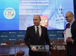 1.300 quan sát viên quốc tế giám sát bầu cử Tổng thống Nga