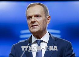 Chủ tịch EC hối thúc Tổng thống Trump nối lại đàm phán thương mại EU - Mỹ