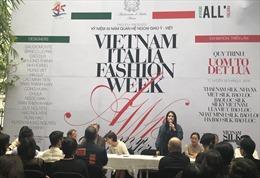 Tuần lễ thời trang Thu Đông Việt Nam - Italy 2018