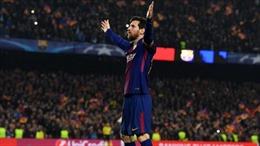 'Siêu nhân' Messi rực sáng đưa Barcelona vào tứ kết Champions League