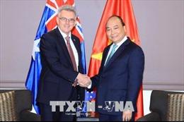 Thủ tướng Nguyễn Xuân Phúc tiếp Chủ tịch Hội Hữu nghị Australia - Việt Nam