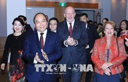 Tiệc tiếp tân trọng thị kỷ niệm 45 năm thiết lập quan hệ Australia - Việt Nam