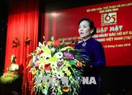 Cục Điện ảnh tiếp nhận bản sao Sắc lệnh 147/SL của Chủ tịch Hồ Chí Minh
