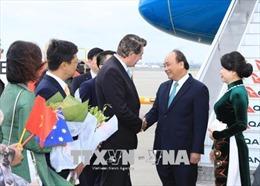 Thủ tướng Nguyễn Xuân Phúc đến Sydney, dự Hội nghị ASEAN – Australia