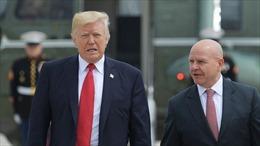 Tổng thống Trump quyết định sa thải Cố vấn An ninh Quốc gia McMaster