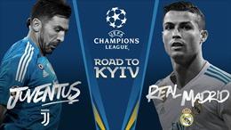 Real Madrid đại chiến Juventus ở tứ kết Champions League