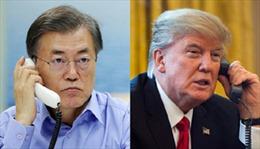 Lãnh đạo Mỹ, Hàn điện đàm về tình hình trên Bán đảo Triều Tiên