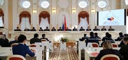 Nga: Hội thảo và triển lãm kỷ niệm 95 năm ngày Bác Hồ đặt chân đến Petrograd