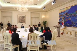 Phu nhân Tổng thống Hàn Quốc gặp gỡ sinh viên Việt Nam