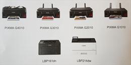Canon Việt Nam ra mắt loạt máy in thế hệ mới