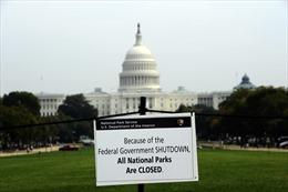 Mỹ đứng trước nguy cơ đóng cửa chính phủ lần thứ 3 trong năm