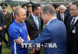 Tổng thống Moon Jae-in nhận định Việt Nam đang trở thành một nước công nghiệp tiên tiến