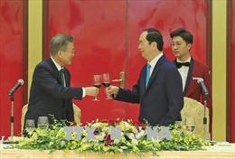 Tổng thống Hàn Quốc: Tôi cảm nhận được lòng tin giữa những con người cùng đi tới tương lai