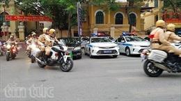 Hà Nội phân luồng giao thông phục vụ Hội nghị Thượng đỉnh hợp tác Tiểu vùng Mê Công