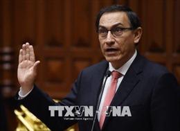 Peru có Tổng thống mới sau khi miễn nhiệm Tổng thống Kuczynski