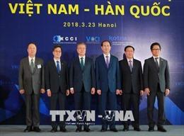 Thời báo Hàn Quốc đưa tin đậm nét về chuyến thăm Việt Nam của Tổng thống Moon Jae-in