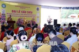 Kiều bào tại Lào tổ chức Đại lễ cầu siêu cho các anh hùng liệt sĩ