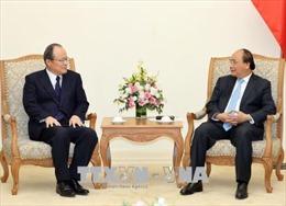 Thủ tướng Nguyễn Xuân Phúc tiếp Lãnh đạo Tập đoàn Mitsubishi, Nhật Bản
