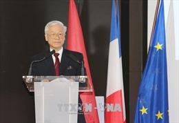 Tổng Bí thư Nguyễn Phú Trọng: Mong doanh nghiệp Pháp thành công tại Việt Nam