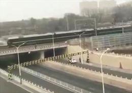 Đoàn tàu có thể chở phái đoàn cấp cao Triều Tiên đã rời Bắc Kinh