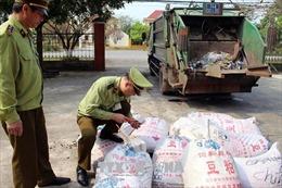 Thu giữ, tiêu hủy hàng tấn thực phẩm không đảm bảo an toàn